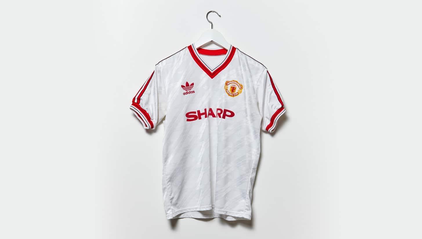 เสื้อแมนฯ ยูฯ ปี 1986-1988 ชุดเหย้า
