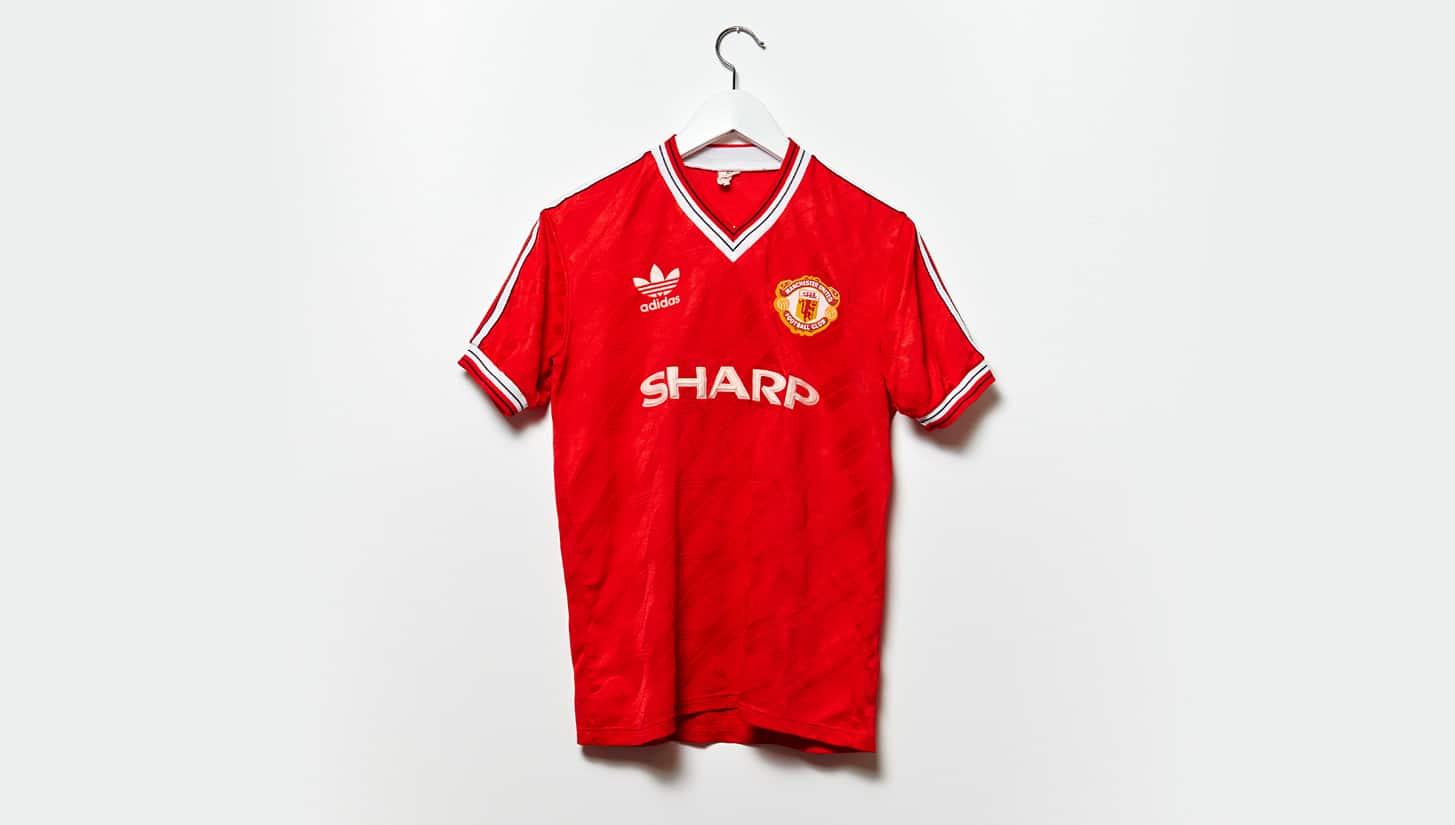 เสื้อแมนฯ ยูฯ ปี 1986-1988 ชุดเยือน