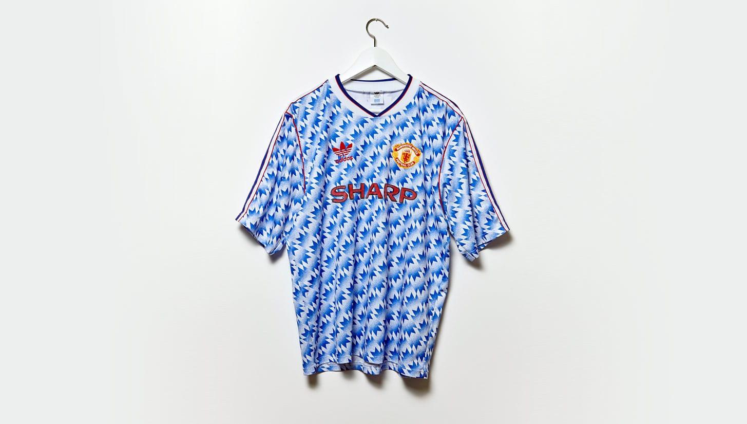 เสื้อแมนฯ ยูฯ ปี 1990-1992 ทีมเยือน